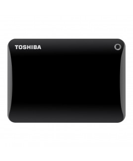 Toshiba 2TB Canvio Connect II Portable Hard Drive - Black