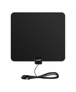 viewtv 30 Mile Ultra-Thin Flat HD Digital Indoor TV Antenna