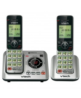Vtech DECT6.0 2-Handset Caller ID Cordless Speakerphone with Digital Answerer