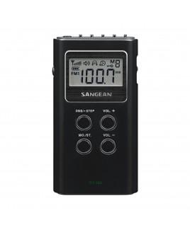 Sangean AM/FM Stereo Digital Tuning Pocket Radio (Black)