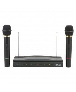 Naxa Professional Dual Wireless Microphone Kit