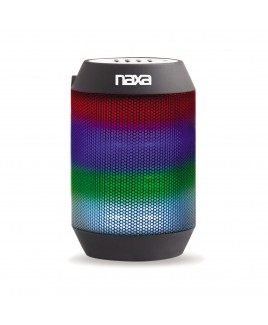Naxa VIBE mini Bluetooth Speaker with Multi-color Effects