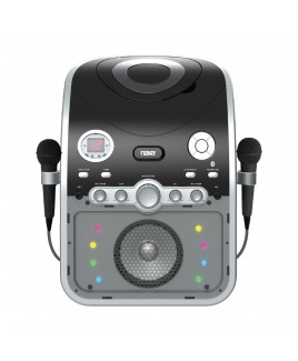 Naxa Karaoke CD/CD+G Party System with Bluetooth, USB Charging and Multicolor LED Lights