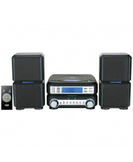 Naxa Digital CD Microsystem with AM/FM Stereo Radio and AUX-in