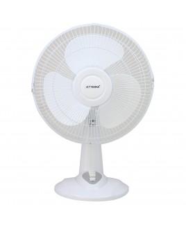 ATHome 12 Inch Desk Fan White