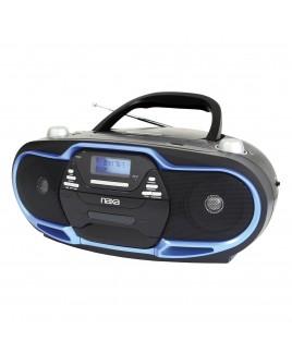 Naxa Portable MP3/CD Player with AM/FM Stereo Radio & USB Input