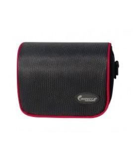 IMPECCA DCS100 Digital Camera Case for G10/G11 Black with Red Trim