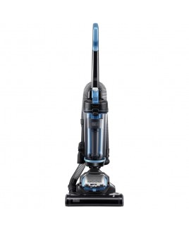 Black & Decker AIRSWIVEL Ultra light weight Upright Vacuum Cleaner, Black / Aqua Blue