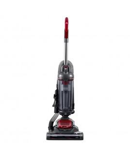 Black & Decker AIRSWIVEL Ultra Lightweight Upright Vacuum Cleaner - Versatile, Titanium / Monza Red