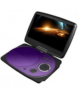 IMPECCA 9 Inch Swivel Portable DVD Player, Purple