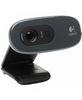 Logitech HD Webcam C270, Simple 720p video calls