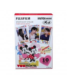 FujiFilm instax mini Instant Color Character Film, Mickey Mouse