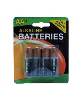 Vary Alkaline AA Batteries 4-Pack Repacked