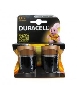 Duracell Alkaline D Batteries 2-Pack