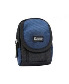 IMPECCA DCS25 Soft Compact Camera Case Black/Blue