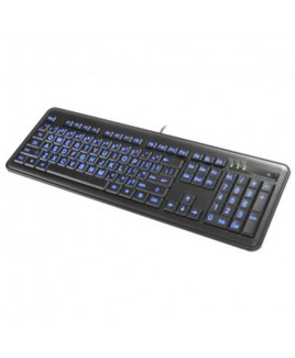 IMPECCA KBL200 Large Font Illuminated Keyboard