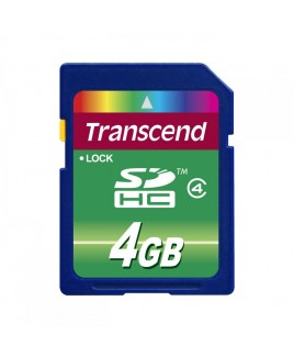 Transcend SD High Capacity 4GB Card Class 4
