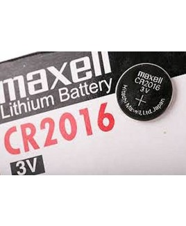 Vary CR2016 5 Pack 3v Lithium Button Batteries