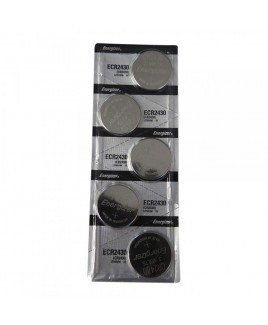 Energizer ECR2430 Lithium 3V Cell Batteries, Sold in increments of 5 only