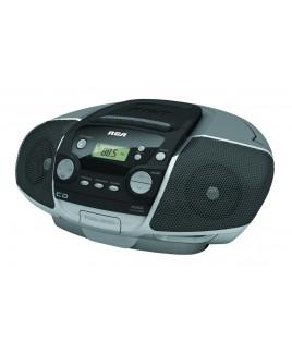 RCA RCD175 CD Player, Cassette Recorder, Digital AM/FM Boombox