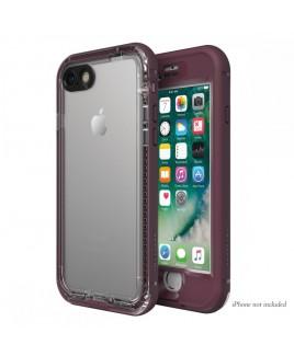 LIFEPROOF NUUD for iPhone 7 Waterproof, Dirtproof, Snowproof, Dropproof, Plum Reef Purple