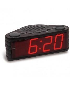 Sylvania SCR1206 AM/FM Clock Radio