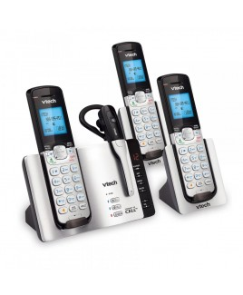 Vtech 3-Handset Connect to Cell Answering System with Cordless Headset