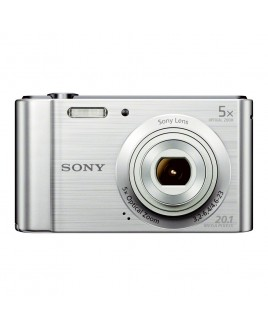 Sony Cyber-shot DSC-W800 20.1 Megapixel Digital Camera with 5x Zoom and 2.7in LCD (Silver)