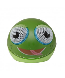 IMPECCA Portable Character Stereo Speaker, Frog