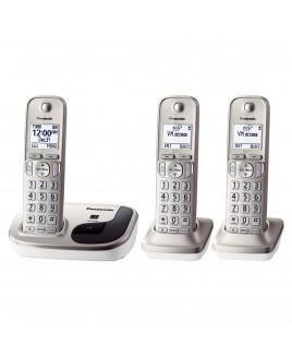 Panasonic Expandable Digital Cordless Phone with 3 Handsets