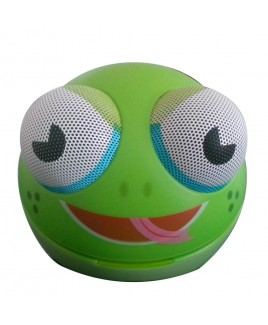 IMPECCA Portable Character Stereo Speaker, Frog