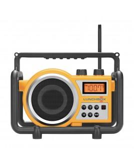 Sangean LUNCHBOX Compact Digital PLL AM/FM Ultra Rugged Radio Receiver, Yellow