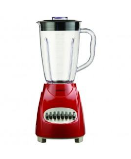 Brentwood 12 Speed Blender Plastic Jar - Red