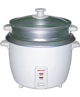 Brentwood TS-600S Rice Cooker and Steamer 1 Liter Capacity