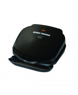 George Foreman 2-Serving 36 Sq. Inch Grill Black