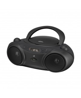 GPX CD/MP3 AM/FM Boombox with USB and Aux Play