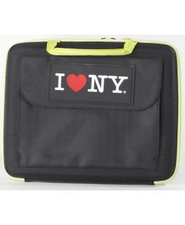 I Love NY LAP1160 Sleek Laptop Hard Case fits Netbooks up to 11.6
