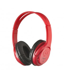 IMPECCA Bluetooth Stereo Headset + Music Player - Red