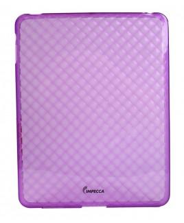 IMPECCA IPS121 Diamond Bubble Flexible TPU Protective Skin for iPad™ - Purple