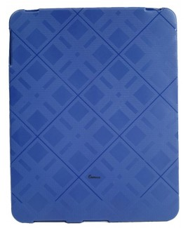 IMPECCA IPS122 Plaid Flexible TPU Protective Skin for iPad™ - Blue