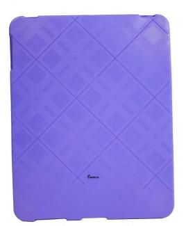 IMPECCA IPS122 Plaid Flexible TPU Protective Skin for iPad™ - Purple