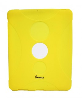 IMPECCA IPS130 Shock Protective Heavy Duty Rubber Skin for iPad™ - Yellow