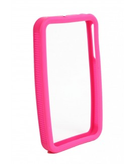 IMPECCA IPS225 Secure Grip Rubber Bumper Frame for iPhone 4™ - Pink