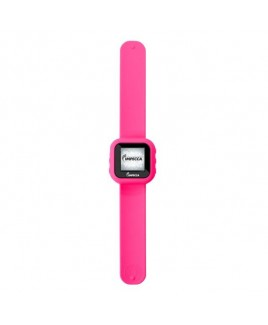 "IMPECCA MPW1580 8GB MP3 Slapwatch with 1.5"" TFT Display - Pink"