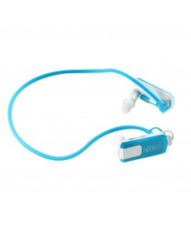 IMPECCA Impecca Wire Free Sport Waterproof 8GB MP3 Player, Aqua