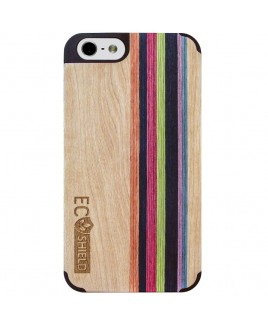 Eco Shield Natural Wood Case for iPhone 6, Natural Harmony (made of Maple & Multi-Mix)