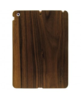 Eco Shield Natural Wood Case for iPad Air, Warm Polish (made of Walnut)