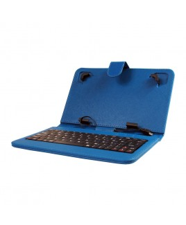 IMPECCA Mini Keyboard Case & Stand For 7 Inch Tablets - Blue
