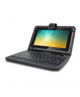 IMPECCA Universal Mini Keyboard Case & Stand For 9 Inch Tablets - Black