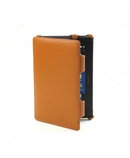 IMPECCA PCP112 Genuine Leather SlimFlip Case for Blackberry™‎ Playbook - Brown